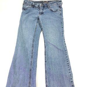 St John's Bay Women Straight Leg Jeans Sz 12P O233